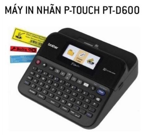 Máy in nhãn PT-D600
