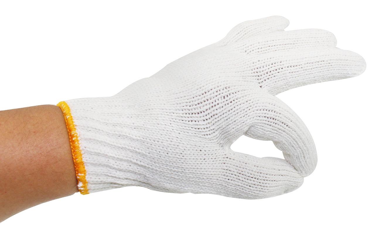 găng tay không in